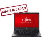 Лаптоп Fujitsu Lifebook E449 14.0 инча FHD, Anti-glare, Intel Core i5-8250U up to 3.4GHz 6MB, 4 GB DDR4, SSD M.2 256GB, Черен, S26391-K483-V100_256_I5