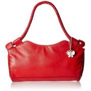 Butterflies Women's Handbag (Red) (BNS 0304)