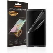Folie protectie ecran Samsung Galaxy S8 TPU Perfect Fit + BONUS Husa de protectie transparenta Samsung Galaxy S8 din silicon Joyshell Cle