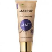 Bielenda Make-Up Academie Matt base de finalização mate para uma cobertura completa tom 2 Beige 30 g