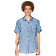 Globe Goodstock Vintage Short Sleeve Shirt Bruise Blue