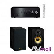 Pachet Amplificator Integrat Yamaha A-S301 + Boxe Davis Acoustics Eva
