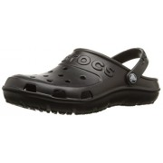 Crocs Men's Hilo Black Rubber Clogs and Mules - M13
