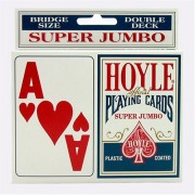 Educational Products - Hoyle Super Jumbo Playing Cards (2pk) - Great gift for card players of all ages. Super jumbo