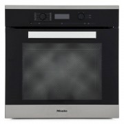Miele PureLine H6260B CleanSteel Single Built In Electric Oven