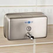Nofer Дозатор жидкого мыла Nofer Inox 03002.S
