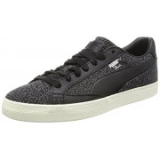 Puma Men's Match Vulc 2 Citi Black Leather Sneakers - 10 UK/India (44.5 EU)