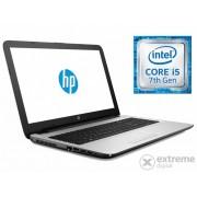 Laptop HP 15-AY101NH Y7Z07EA, alb- argintiu + Windows 10, layout tastatura maghiara
