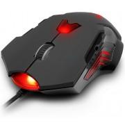 Mouse, Delux DLM-M811LU, Gaming, Laser (DLM811LU)