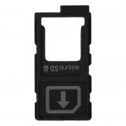 Avizar Repuesto Bandeja Tarjeta Nano SIM Negra para Sony Xperia Z5