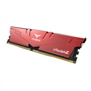 DDR4, 16GB, 2666MHz, Team Group Elite T-Force Vulcan Z Red, 1.2V, CL18 (TLZRD416G2666HC18H01)