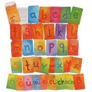 Carduri cu literele mici de mana ale alfabetului german