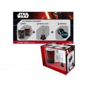 STAR WARS Pack Taza + Llavero + Insignia Star Wars Vador
