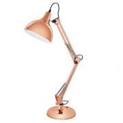EGLO Candeeiro de mesa, Borgillio 94704, em cobre