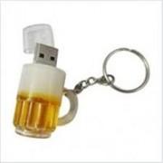 Microware Beer Mug Shape 8gb Pendrive 8 GB Pen Drive(Gold)