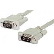 Roline VGA Cable, HD15 M - HD15 M, 15m Crni