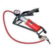 Lábműködtetésű Autós - Biciklis Pumpa mérővel - CN-200