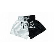 Sort Muay Thai Everlast EM7 White/Black