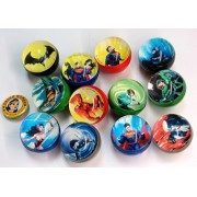Dc Comics Super Hero High Bounce Balls With Collectors Pin