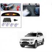 Auto Addict Car Silver Reverse Parking Sensor With LED Display For Mitsubishi Pajero Sport