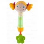 Бебешка Плюшена пищялка с гризалка Русо Момиченце - 1285 Babyono, 9070133