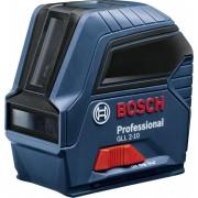 Nivelă laser profesională cu linii în cruce, Bosch Professional GLL 2-10