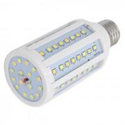 FLYLI E27 15W blanco calido + natural + luz blanca fria 80-LED bombilla de maiz