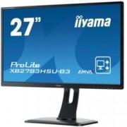 "Монитор Prolite IIYAMA XB2783HSU-B3, 27"" (68.58 cm), AMVA+ панел, 4ms, 80000000:1, 300 cd/m2, Display Port, HDMI, DVI, VGA"