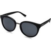 Fastrack Round Sunglasses(Black)