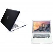 Case Carcasa + Protector De Teclado Para Macbook Pro 13'' Sin Touch Bar Model (A1708) -Negro Degradado