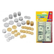 Educational Insights Basic Life Skills Educational Toy Bundle with Play Coins and Play Bills