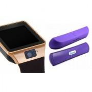 Zemini DZ09 Smartwatch and B 13 Bluetooth Speaker for SAMSUNG GALAXY TREND LITE(DZ09 Smart Watch With 4G Sim Card Memory Card| B 13 Bluetooth Speaker)