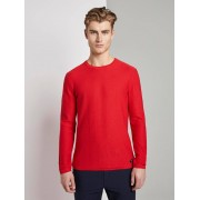TOM TAILOR DENIM gebreide trui, Heren, very red, M