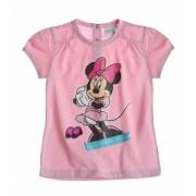 Tricou bebe Minnie pink