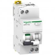 Schneider Electric, iDPN H, A9D07606, Áramvédős kismegszakító (Kombi Fi-relé) 1P+N, B karakterisztika, 6A, 30mA, 10kA, A osztály (Schneider A9D07606)