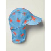Boden Surfbrett-Blau, Krabben Bedruckter Badehut mit Sonnenschutz Baby Baby Boden, 104, Blue
