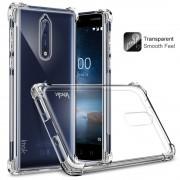 Nokia 8 IMAK Силиконов Калъф и Протектор