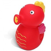 Puzzled Sea Horse Bath Buddy Squirter Red 3 Inch