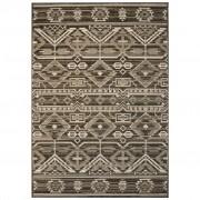 vidaXL szizál hatású beltéri/kültéri szőnyeg 80 x 150 cm geometrikus