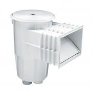 Skimmer boca standard tapa circular piscina hormigón AstralPool - Blanco