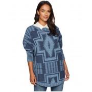 Pendleton Harding Oversized Pullover Mood Indigo Multi