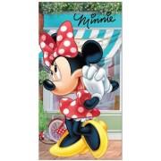 Disney Mimmi Pigg Handduk 35 x 65 cm Café Turkos/Vit