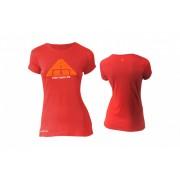 Kellys KLS Women's Biker rövid ujjú női póló piros L
