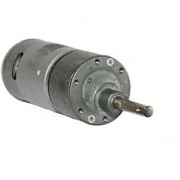 12v DC RS-37-555 Side Shaft Gear Geared Motor - 60 rpm