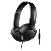 Casti Stereo Philips SHL3075BK/00, Microfon (Negru)