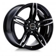 Avus Ac-mb3 9,5x20 5x120 Et45 72.6 Black - Llanta De Aluminio