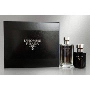 Fulfilled by Wowcher £49 instead of £61.90 for a Prada L'Homme Giftset - get a 100ml EDT Spray and 125ml aftershave balm and save 21%
