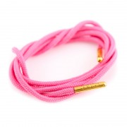 Bondi Laces Dress Laces Fairy Floss / Gold Tips DRESPI1G