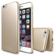 Husa Protectie Spate Ringke Slim Royal Gold plus folie protectie pentru Apple iPhone 6 Plus