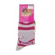Fiorucci 6 szürke , zöld és rózsaszín 3 pár zokni szett lányokank